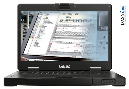 PLC Diagnosis Device PRO based on the Getac S410